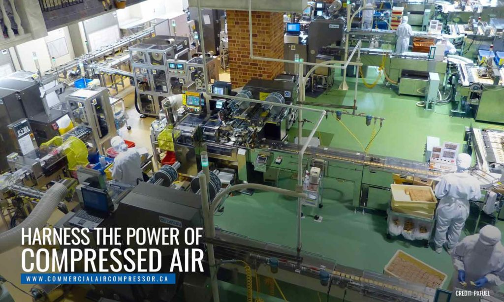 Harness the power of compressed air