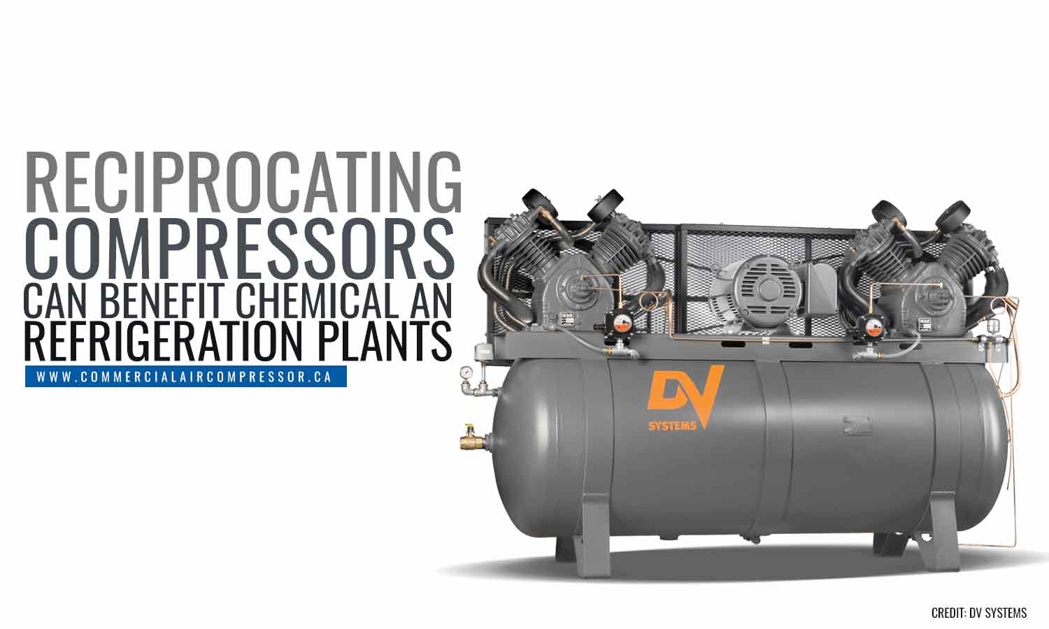 Reciprocating compressors can benefit chemical and refrigeration plants