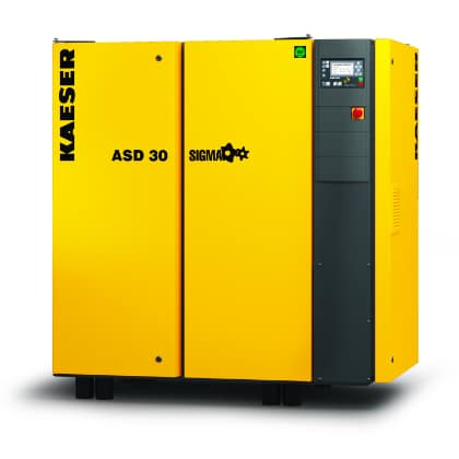 25 - 175 hp Compressor with Refrigerated Dryer