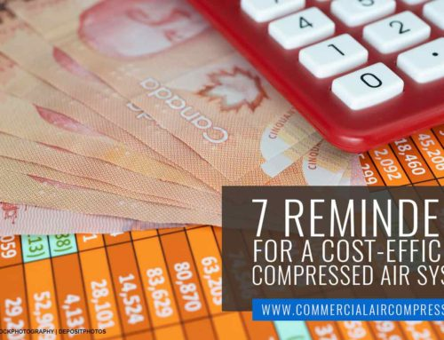 7 Reminders for a Cost-Efficient Compressed Air System