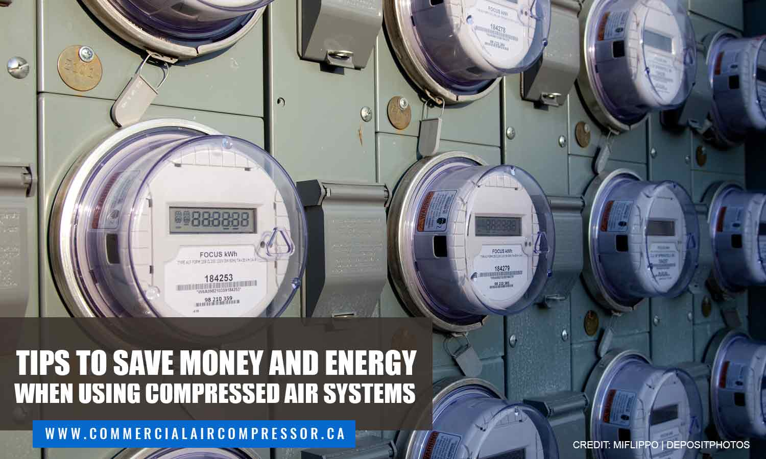 Tips to Save Money and Energy When Using Compressed Air Systems