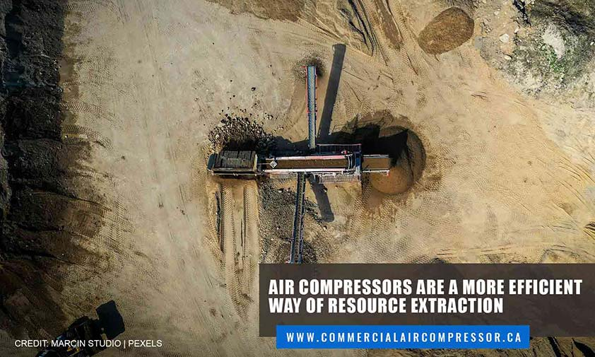 Air compressors are a more efficient