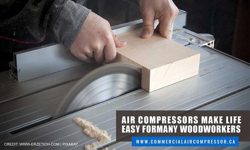 Air compressors make life easy