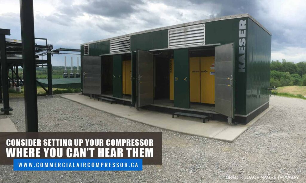 Consider setting up your compressor