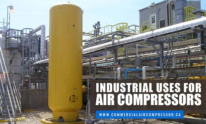 Industrial Uses for Air Compressors
